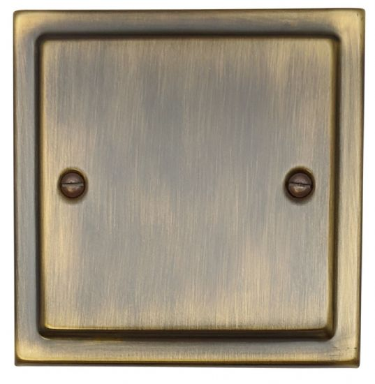 G&H Trimline Plate Antique Bronze